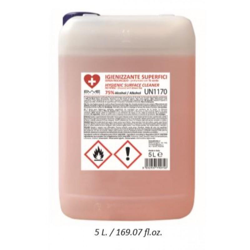 Desinfectie spray met groene thee en 75% alcohol 5000ml